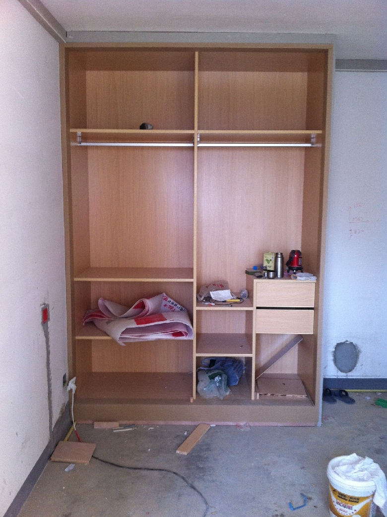 木工装修柜子施工图