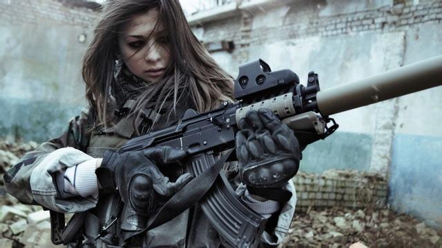 欧式游戏枪武器原画