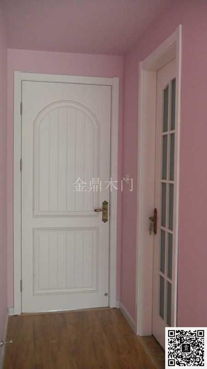 金顶阳光门窗之实木烤漆扣线门--金鼎木门-产品价格