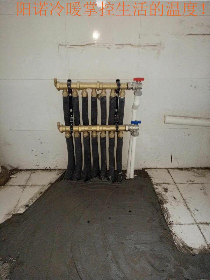 曼瑞德集分水器                           皮特诺里温控阀图片