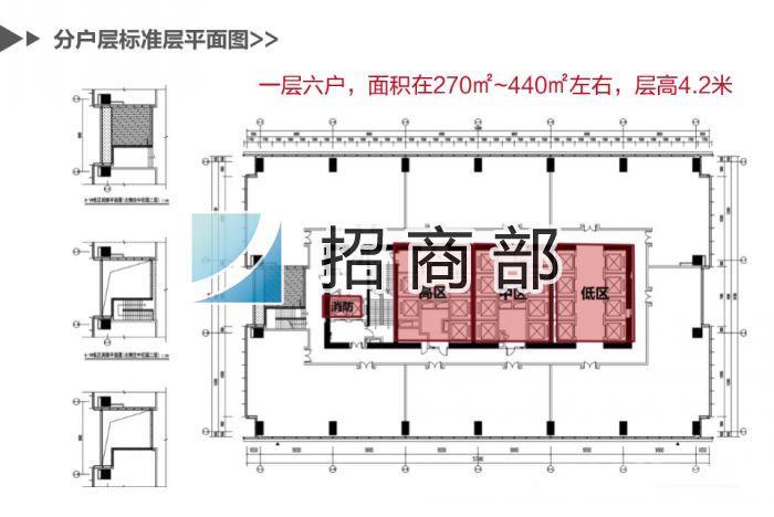 苏宁睿城招商中心◆200至8000平可分◆5a写字楼大平层