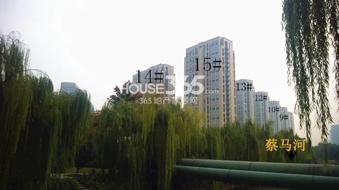 2014年11月底中国铁建国际城项目实景--9、10、12-15号楼