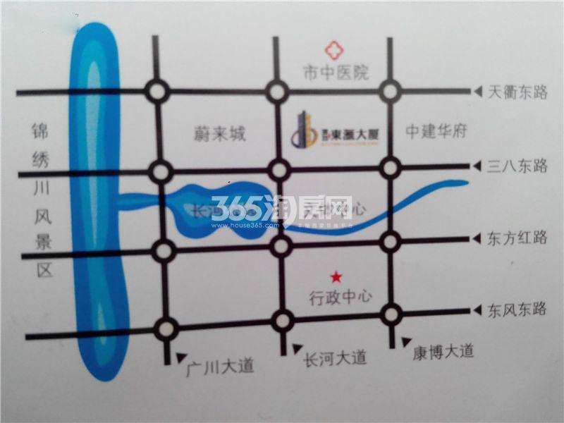 东汇大厦交通图