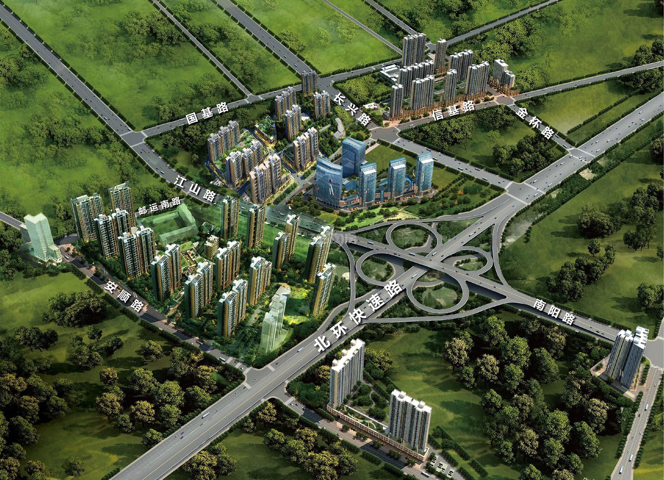 绿地璀璨天城效果图