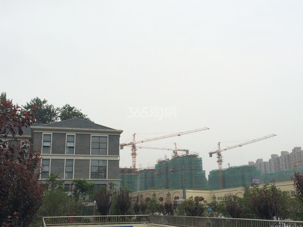 中电颐和府邸实景图(7.16)