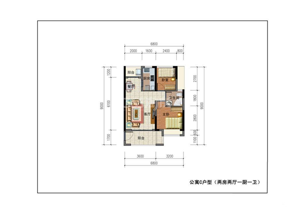 二期公寓C户型