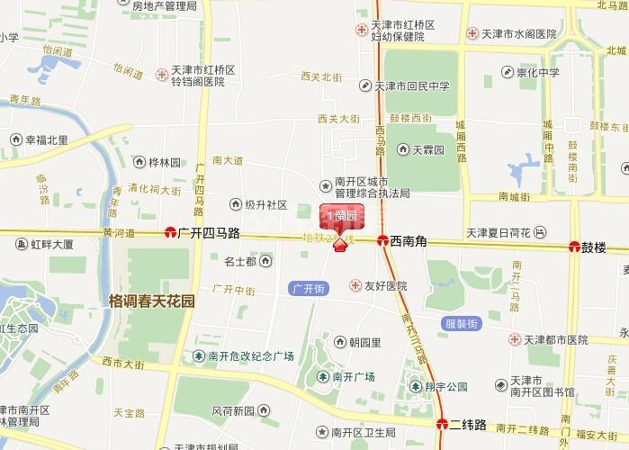 蘭园交通图