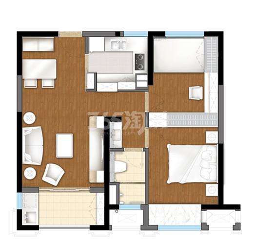 无锡圆融广场优居房户型图
