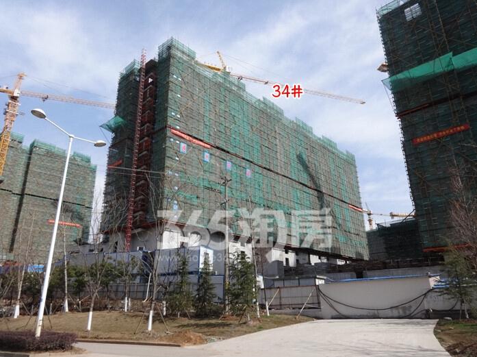 高科荣境二期在建楼栋实景图(2.20)