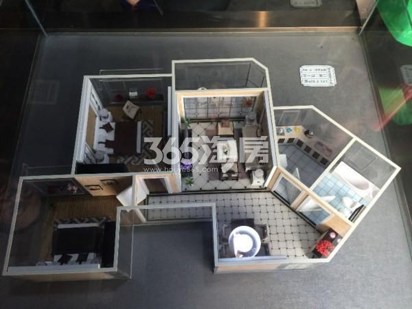 L23-2-B户型 二室二厅一卫 81.69㎡