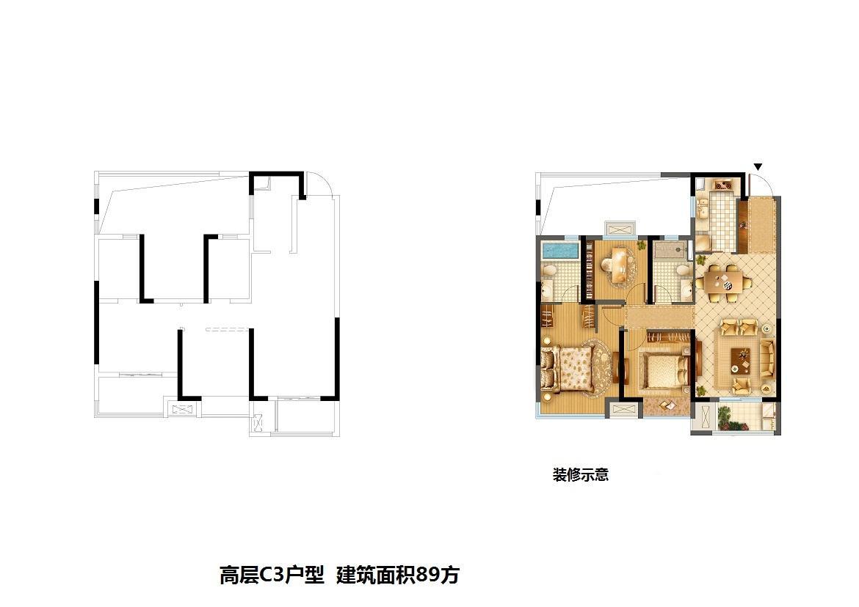 旭辉时代城户型图