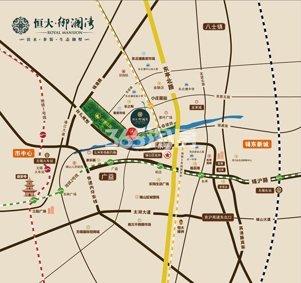 恒大御澜湾(备案名:阳光福邸)交通图