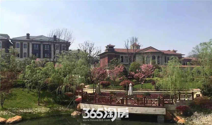 保利西山林语小区内部实景图(2017.02)