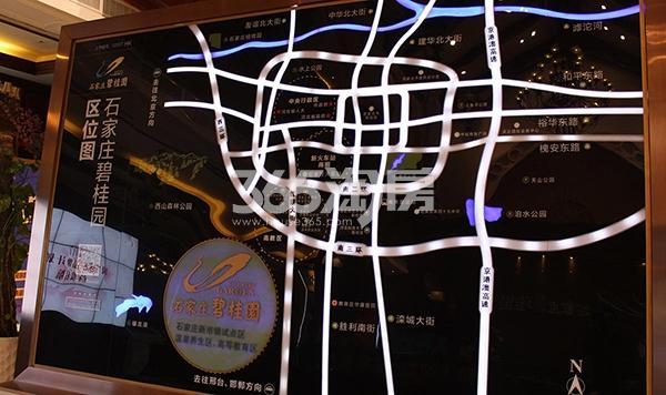 石家庄碧桂园交通图
