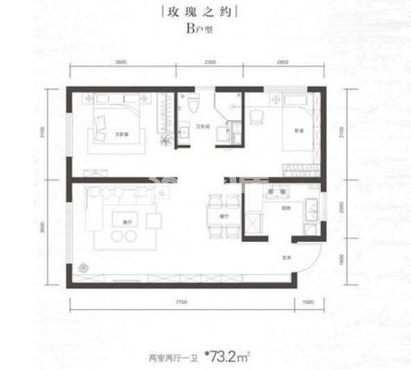 二室二厅73
