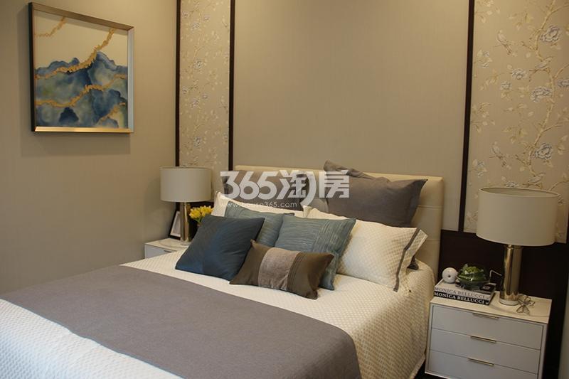 合景映月台E户型170方样板房——卧室
