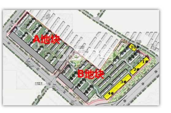 荣里商铺位置分布图