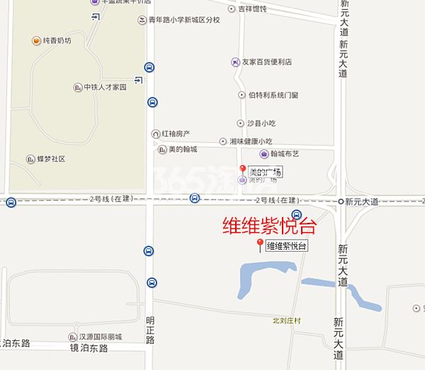 维维紫悦台交通图