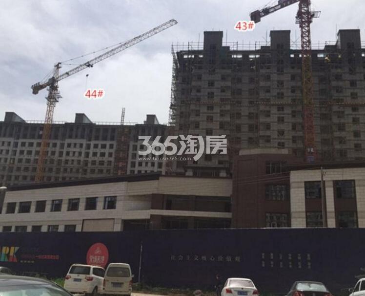 高科荣境在建楼栋实景图(4.21)