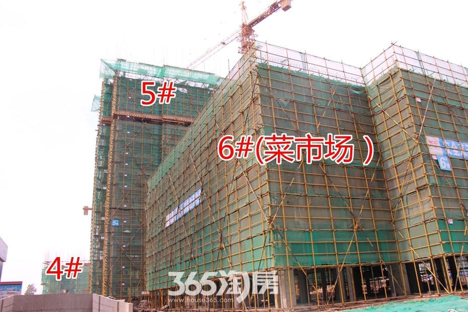 东方龙城清荷苑工程进度(2017.5摄)