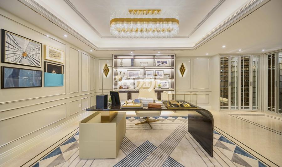 新城香悦公馆P2户型图180方样板房——地下室