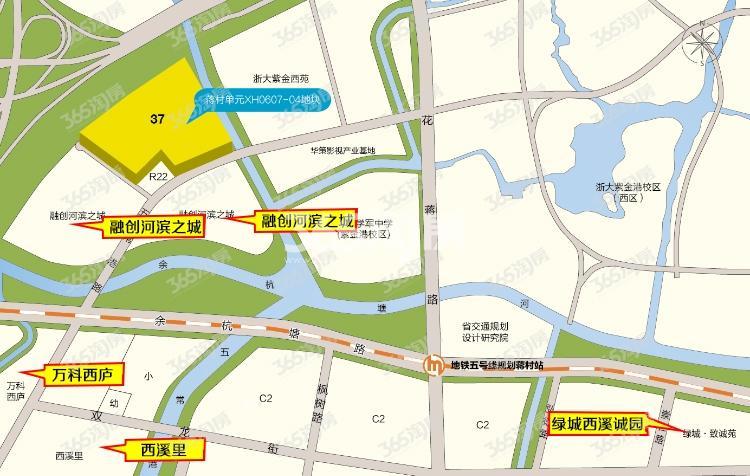 中杭府交通图