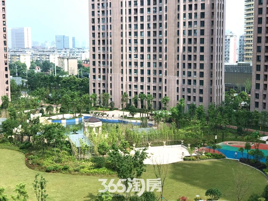 华仑港湾实景图(2017.6摄)
