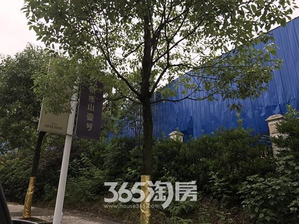 美好紫蓬山壹号工程外部实景图(2017.6.21)