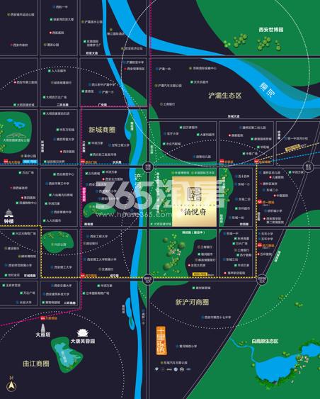 合能铂悦府交通图