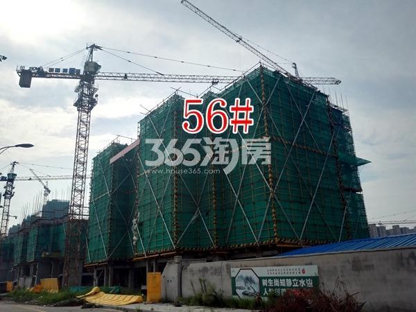 绿地工润和平壹号四期56#工地实景图1(7.19)