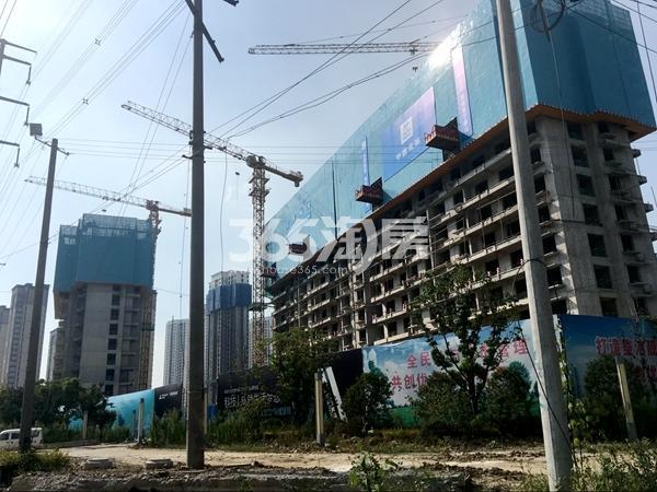 启迪协信无锡科技城A地块1#楼工程实景(2017.7)