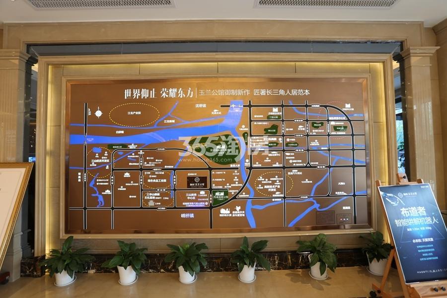 融创玉兰公馆营销中心实景(2017.9摄)