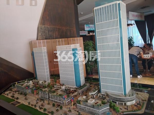 城开中心项目沙盘图