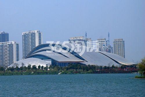 天珑广场周边配套合肥大剧院实景图(9.29)