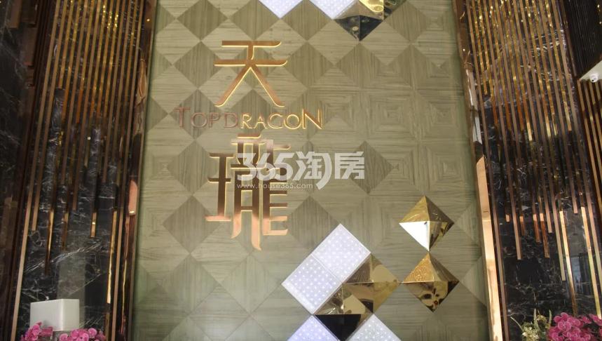 天珑广场售楼部实景图(9.29)