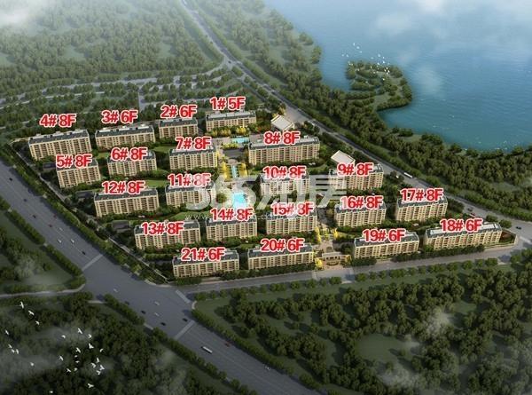 湖悦天境鸟瞰图
