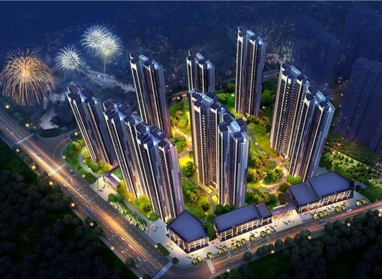 御锦城11期鸟瞰图