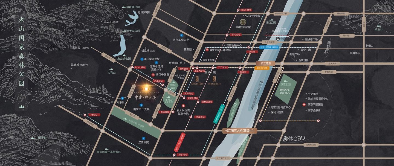 中建熙元府交通图