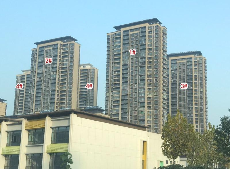 保利融侨时光印象1#、2#、3#、4#楼实景图(2020.11.30 摄)