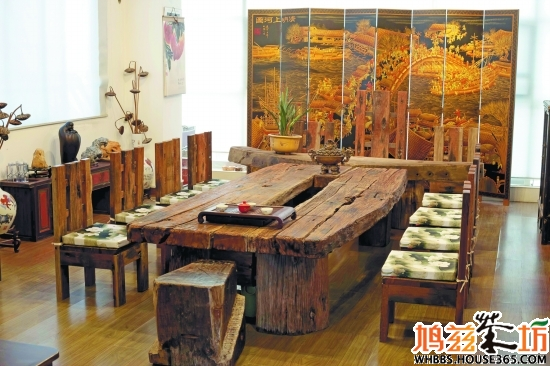 古船木装修风格 复古传统