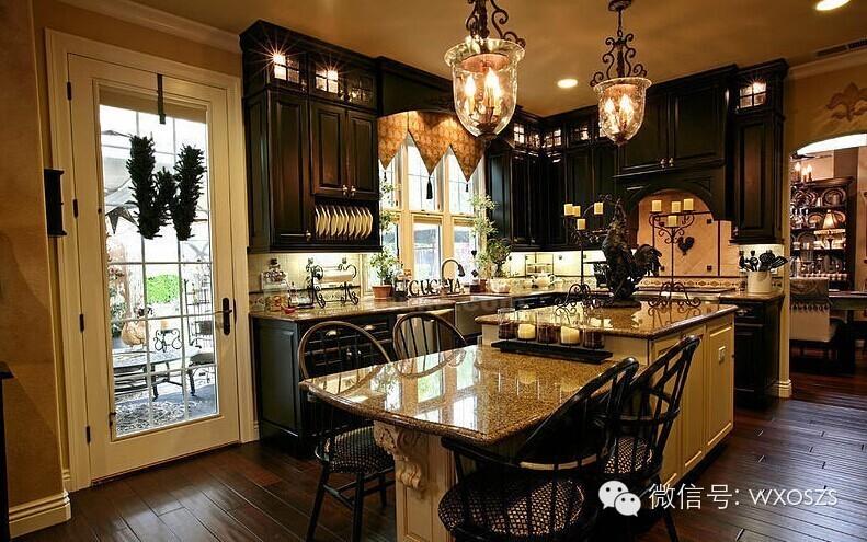 细数欧式风格厨房设计4大特点
